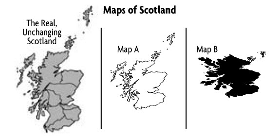 maps of scotland